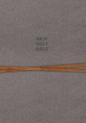 """Image for """"''NKJV Comfort Print Journal the Word Reference Bible, Cloth over Board, Gray''"""""""