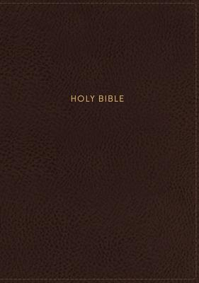 Image for NKJV, Journal the Word Reference Bible, Leathersoft, Brown, Red Letter Edition, Comfort Print: Let Scripture Explain Scripture. Reflect on What You Learn.