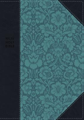 "Image for ""NKJV Comfort Print Journal the Word Reference Bible, Imitation Leather, Blue"""
