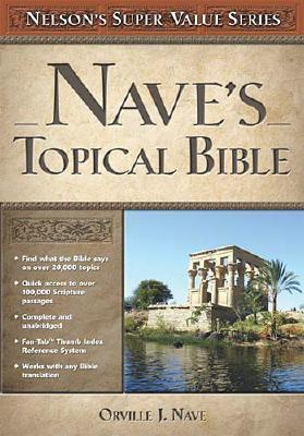 Image for Nave's Topical Bible (Super Value Series)