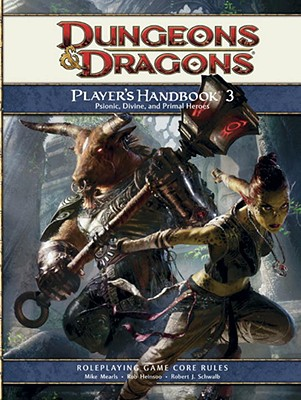 PLAYER'S HANDBOOK 3PSIONIC, DIVINE, AND PRIMAL HEROES ROLEPLAYING GAME CORE RULES, MEARLS, MIKE, ET AL