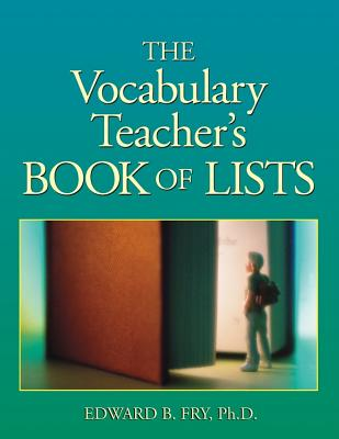 Image for The Vocabulary Teacher's Book of Lists