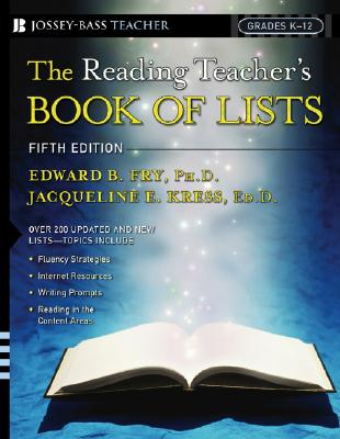 Image for The Reading Teacher's Book Of Lists (Grades K-12, Fifth Edition)