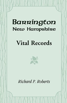 Image for Barrington, New Hampshire, Vital Records