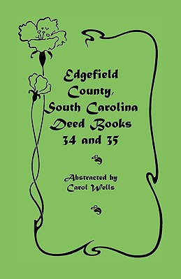 Image for Edgefield County, South Carolina: Deed Books 34 and 35