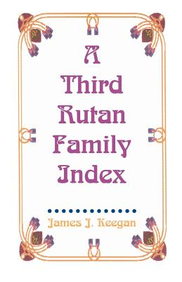 Image for A Third Rutan Family Index