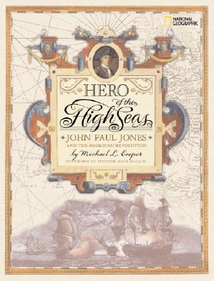 Image for HERO OF THE HIGH SEAS JOHN PAUL JONES AND THE AMERICAN REVOLUTION