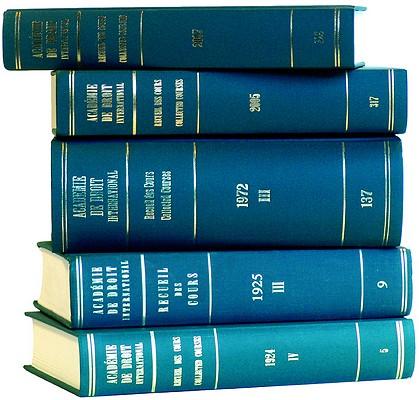 Recueil des Cours - Collected Courses, 1992-IV