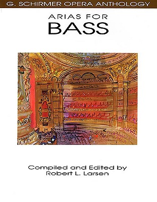 Image for Arias for Bass: G. Schirmer Opera Anthology
