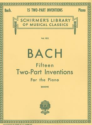 Fifteen Two-Part Inventions for the Piano, Vol. 1512
