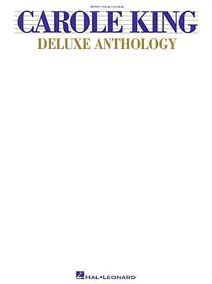 Carole King Deluxe Anthology (Piano/Vocal/Guitar Artist Songbook), KING, Carole