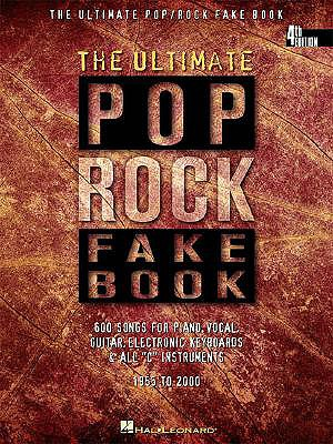 Image for The Ultimate Pop/Rock Fake Book: C Edition (Fake Books)