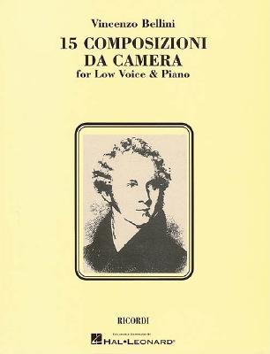 Image for 15 Composizioni da Camera: Low Voice