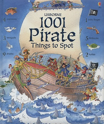 1001 Pirate Things to Spot (1001 Things to Spot), ROB LLOYD JONES