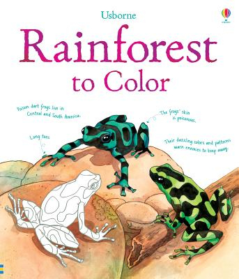 Rainforest to Color (Nature Coloring Books), Meredith, Susan