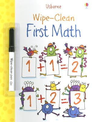 Wipe-Clean First Math [With Dry-Erase Marker]