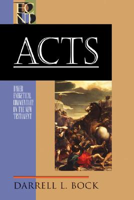 Image for BECNT Acts (Baker Exegetical Commentary on the New Testament)