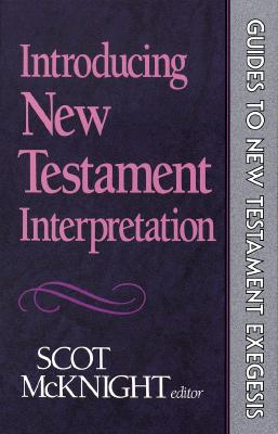 Image for Introducing New Testament Interpretation (Guides to New Testament Exegesis)