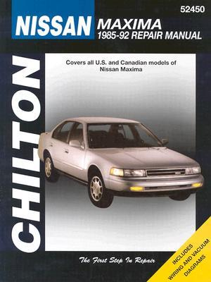 Nissan Maxima, 1985-92 (Chilton's Total Car Care Repair Manual), Chilton