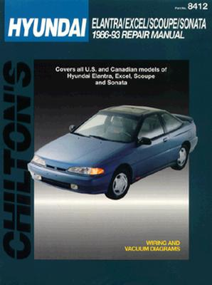 Image for Hyundai Coupes and Sedans, 1986-93 (Chilton's Total Car Care Repair Manuals)