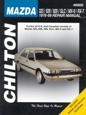 Image for Mazda 323, 626, 929, GLC, MX-6, and RX-7, 1978-89 (Haynes Repair Manuals)