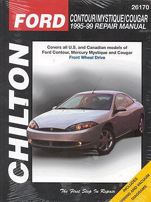 Image for Ford Contour, Mystique and Cougar, 1995-99 (Chilton Total Car Care Series Manuals)