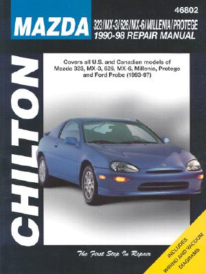 Chiltons Mazda 323/Mx-3/626/Mx-6/Millenia/Protege 1990-98 Repair Manual, CHILTON BOOK COMPANY (EDT)