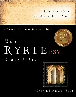 The Ryrie ESV Study Bible Hardback Red Letter (Ryrie Study Bible ESV Version), Charles C. Ryrie