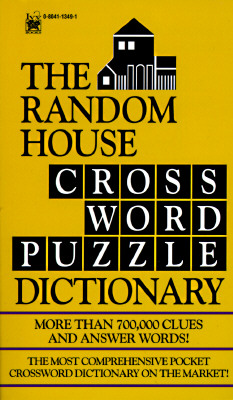 Random House Crossword Puzzle Dictionary, NOT AVAILABLE (NA)
