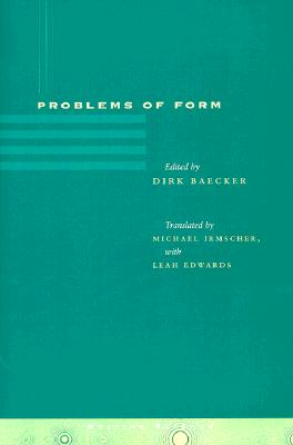 Image for Problems of Form (Writing Science)
