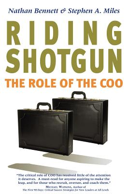 Image for Riding Shotgun: The Role of the COO