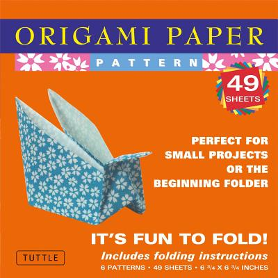 "Origami Paper - Pattern - Small 6 3/4"" - 49 Sheets: (Tuttle Origami Paper) (Origami Paper Packs)"