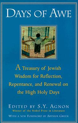 Image for DAYS OF AWE: A TREASURY OF JEWISH WISDOM...