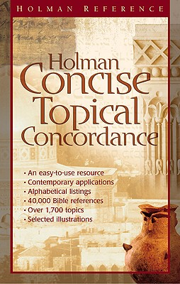 Image for Holman Concise Topical Concordance (Holman Reference)