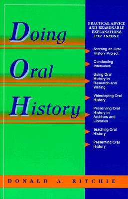 Image for Doing Oral History (Oral History Series)