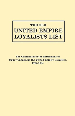 Image for The Old United Empire Loyalists List