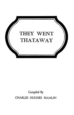 Image for They Went Thataway