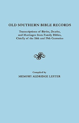 Image for Old Southern Bible Records