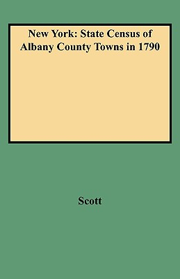 Image for New York: State Census of Albany County Towns in 1790