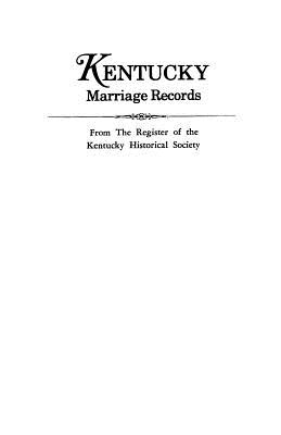 Image for Kentucky Marriage Records