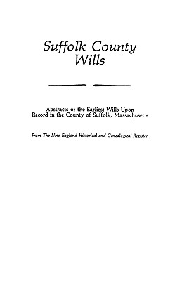 Image for Suffolk County Wills