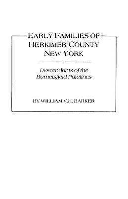 Image for Early Families of Herkimer County, New York