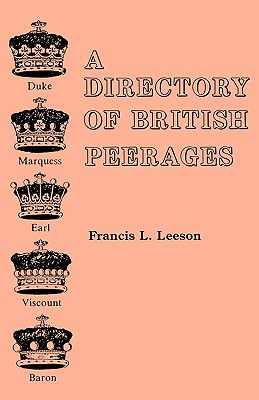 Image for A Directory of British Peerages