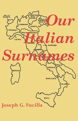 Image for Our Italian Surnames