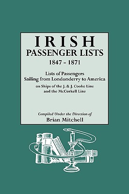 Image for Irish Passenger Lists, 1847-1871