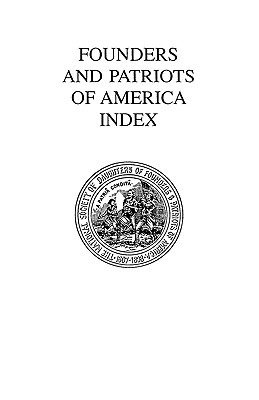 Image for Founders and Patriots of America Index