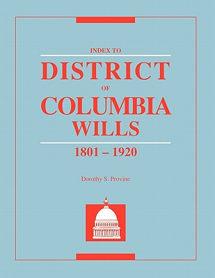 Image for Index to District of Columbia Wills, 1801-1920