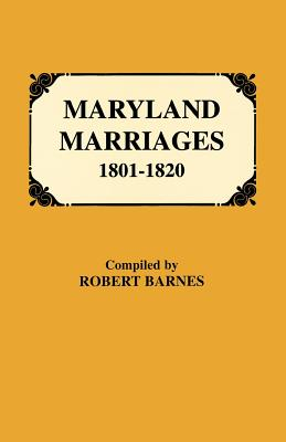 Image for Maryland Marriages, 1801-1820