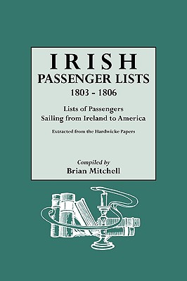 Image for Irish Passenger Lists, 1803-1806