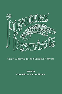 Image for Third Corrections and Additions to Pocahontas' Descendants